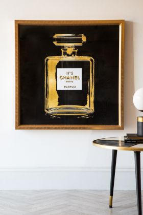 Image of the World-Famous Perfume Fragrance Art Print - Small