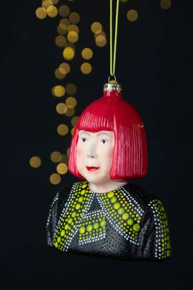 Yayoi Inspired Christmas Tree Decoration