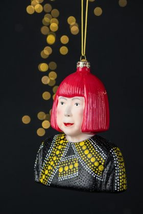 Image of the Yayoi Inspired Christmas Tree Decoration