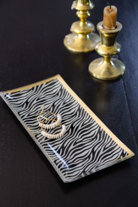 Image of the Zebra Trinket Tray