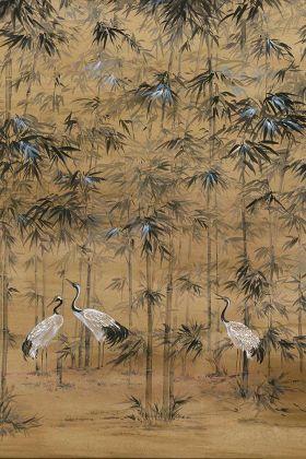 Chinoiserie Wallpaper Mural - Garzas Clow 7900001 - MURAL