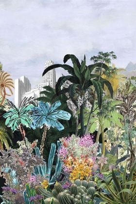 Christian Lacroix Incroyables et Merveilleuses Collection - Bagatelle Wallpaper - Reglisse PCL701/01 - ROLL