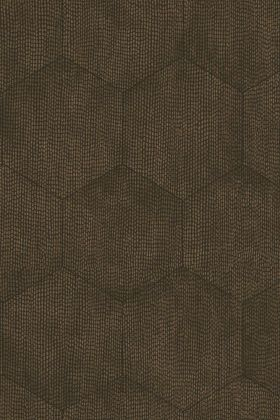 detail image of Cole & Son Curio Collection - Mineral Wallpaper - Black & Bronze 107/6027 - ROLL subtle honeycomb repeated pattern