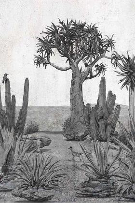 Desert Landscape Wallpaper Mural - Meiji Chai Seed 7900142 - MURAL