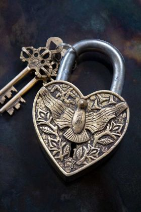 Image of the Big Eagle Decorative Padlock