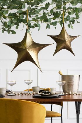 Gold Metallic Star - 2 Sizes Available