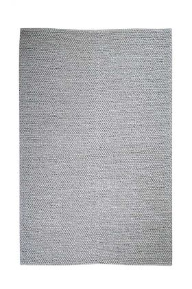 Image of the Platinum Grey Popcorn Rug on a white background
