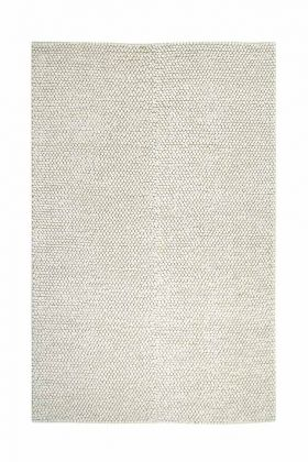 Image of the Vanilla Cream Popcorn Rug on a white background