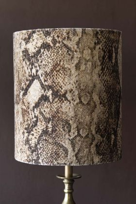 Rockett St George Sexy Snakeskin Lamp Shade - Large