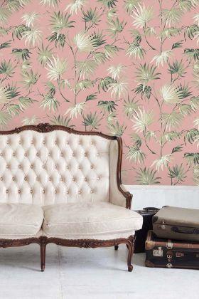 Va Va Frome Wallpaper by Pearl Lowe - Powder Pink WM-225 - ROLL