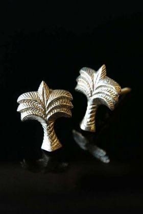 Set Of 2 Palm Tree Drawer Knobs