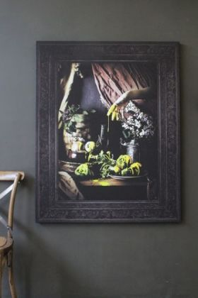 Still Life Canvas Print  Yellow - SMALL