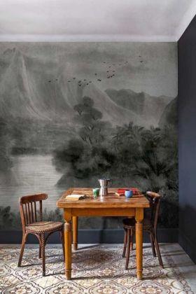 Tropical Paradise Wallpaper Mural - Kodo Chai Seed 7900032 - MURAL