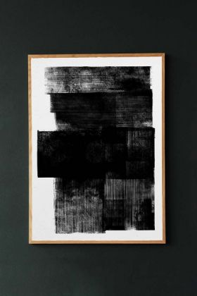 Unframed Midnight Art Print from Made by Lemon