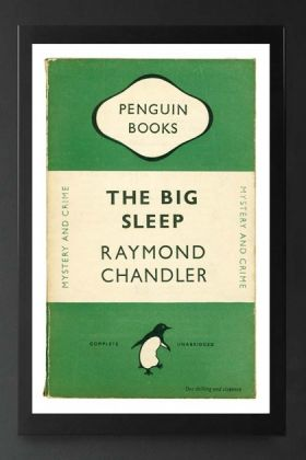 Unframed Penguin Books: The Big Sleep Fine Art Print