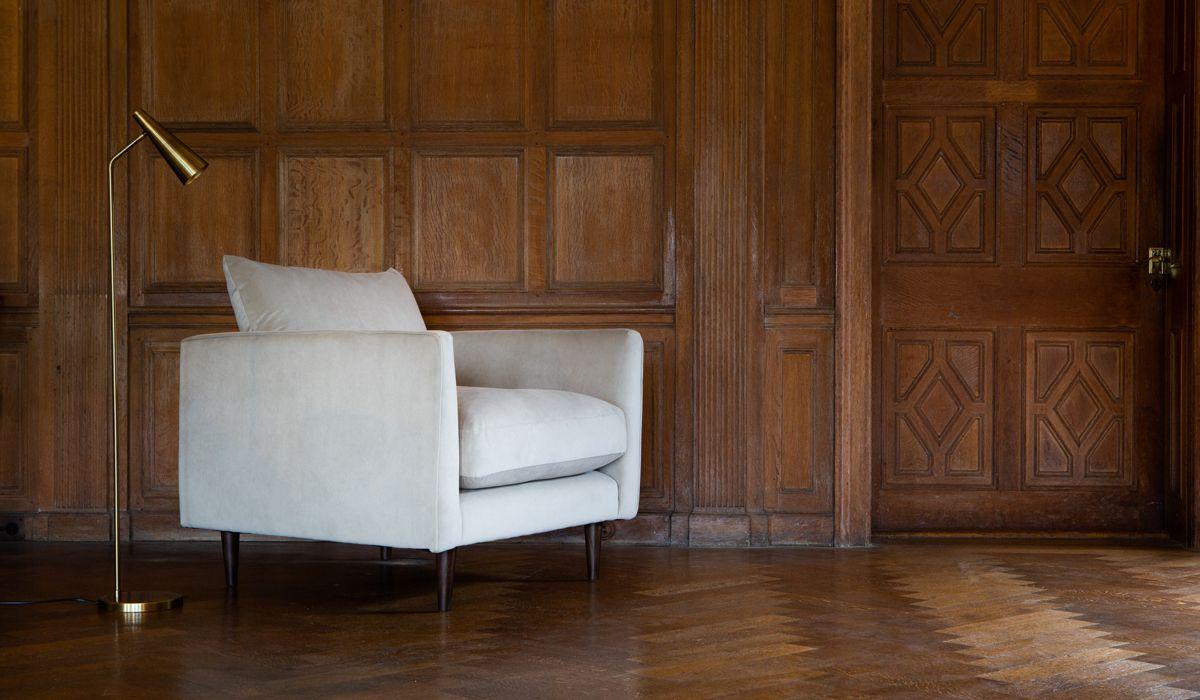 Fabulous Boucle Fabric Armchair