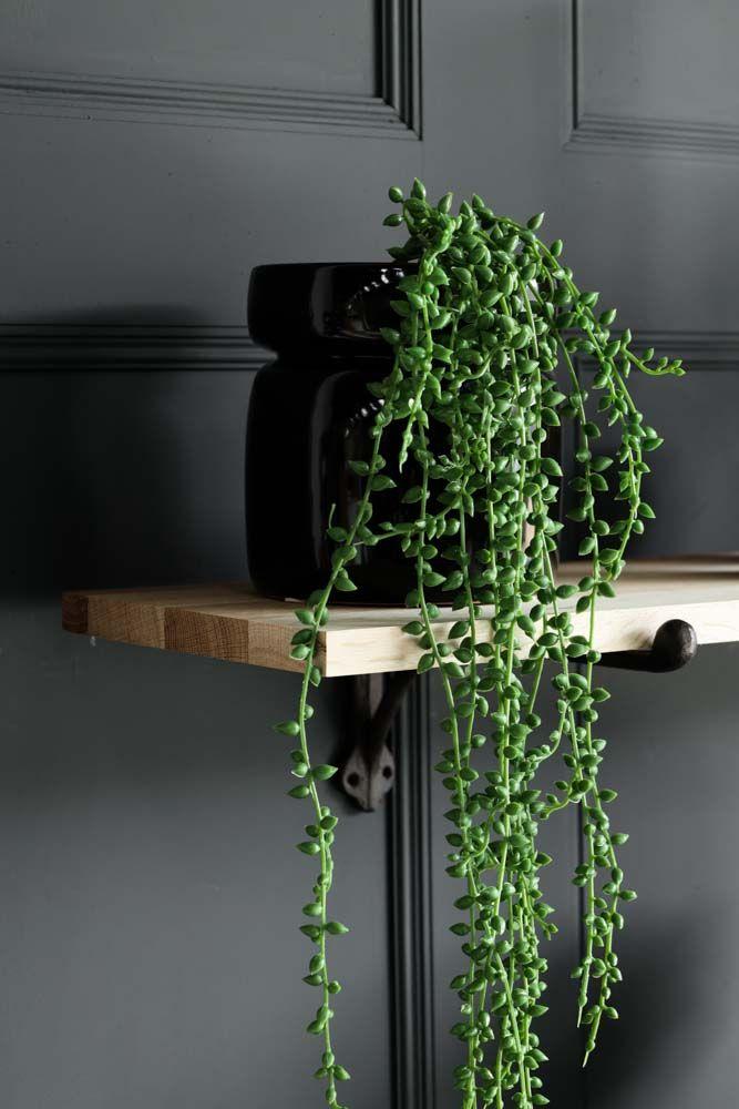 Oak Shelf With Cast Iron Brackets - Large