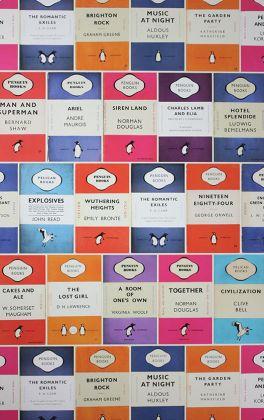 detail image of osborne & little penguin library wallpaper