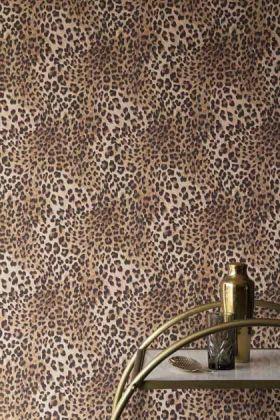 Rockett St George Leopard Love Leopard Print Wallpaper