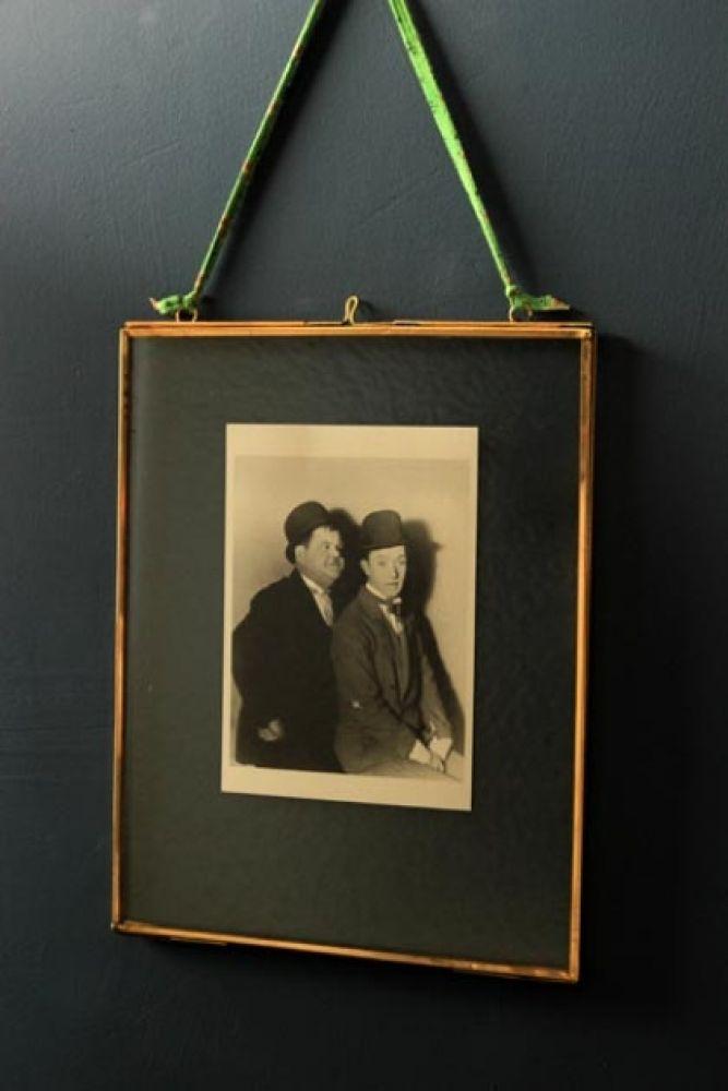 Brass Glass Picture Frame 8x10 Portrait Rockett St George