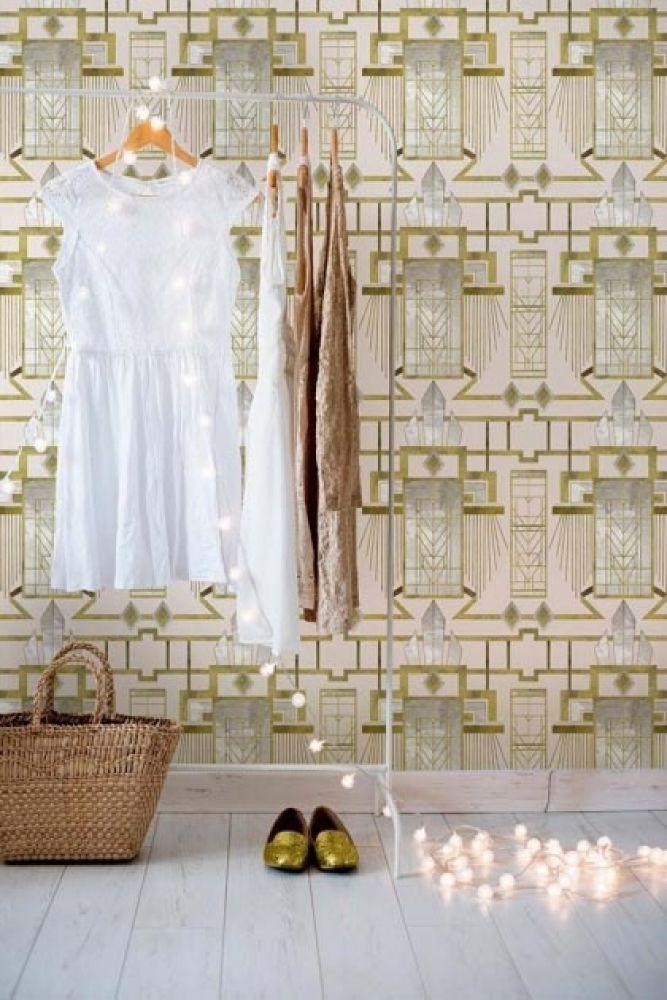Mind The Gap Metropolis Collection - Glamour Wallpaper