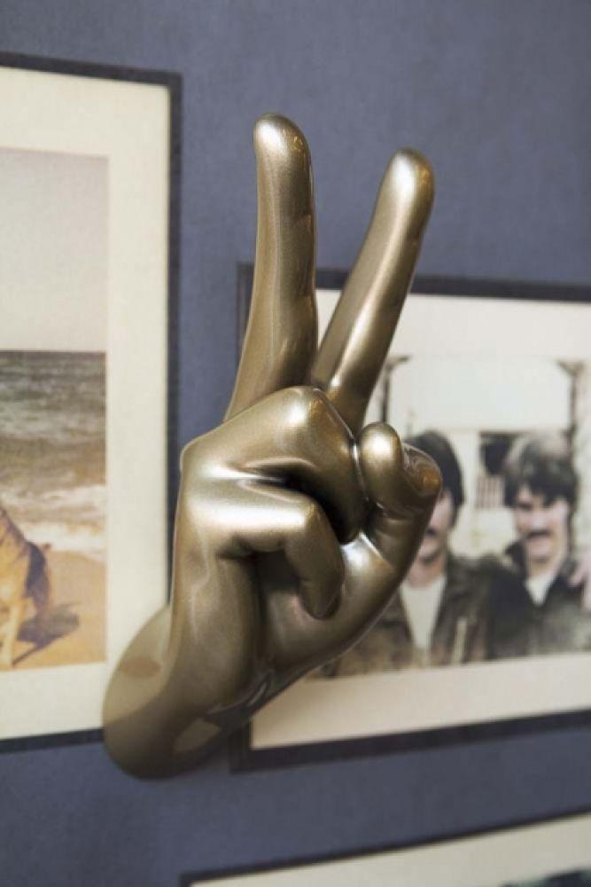 Pikes at Rockett St George - Gold Peace Hand Wall Art & Coat Hook