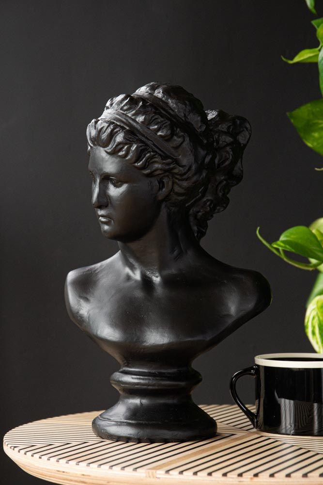 Lifestyle image of the Black Deco Head Ornament