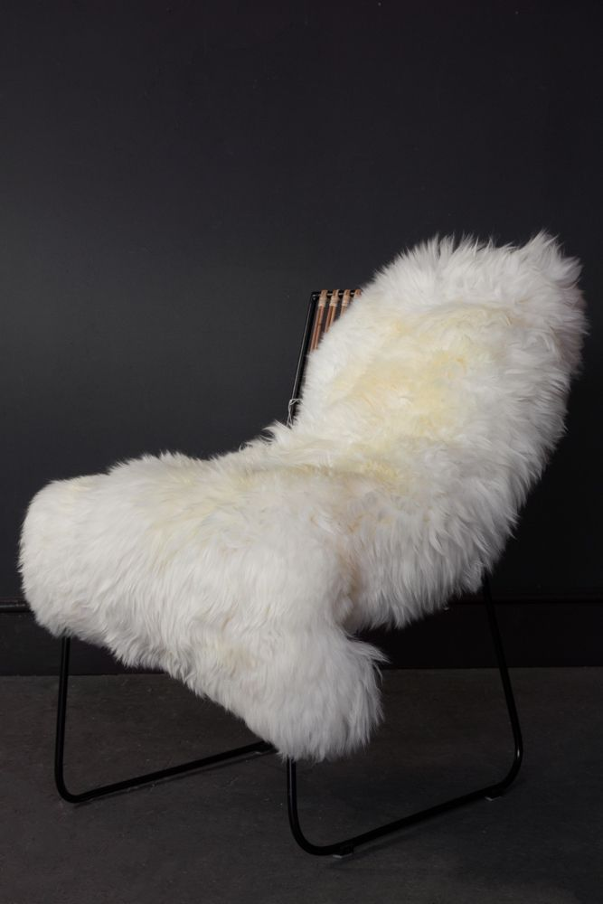 Image of the Genuine Sheepskin Rug in Silky White