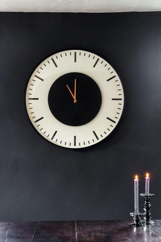 Contemporary Train Station Style Wall Clock Rockett St George