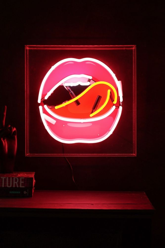Image of the Mouth Neon Light Box