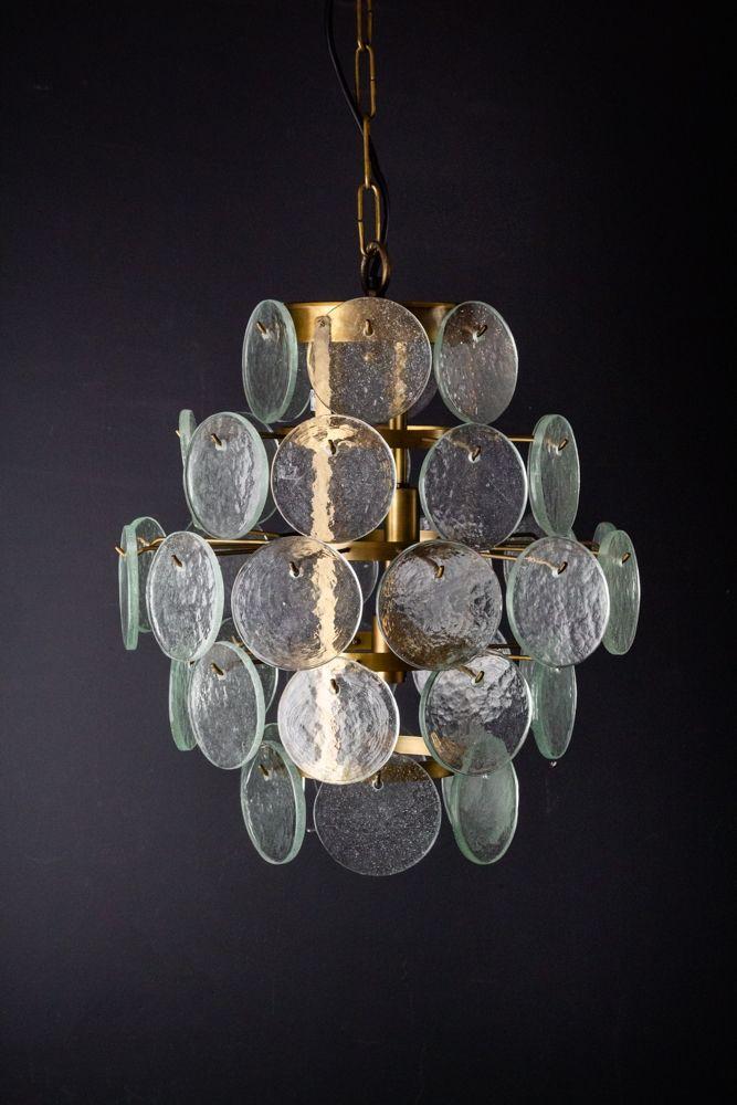 Rada Modern Beautiful Dazzling Glass Chandelier Light