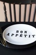 BON APPÉTIT Fine China Plate