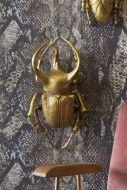 Gold Atlas Beetle Wall Decoration