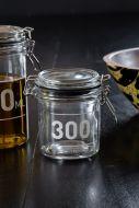 300ML Air Tight Glass Storage Jar