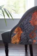 Close-up image of the Tigris Soho Cocktail Chair By Emma J Shipley