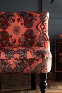 Close-up image of the Caspian Langley Cocktail Chair By Emma J Shipley