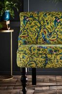 Close-up image of the Rousseau Langley Lime Cocktail Chair By Emma J Shipley