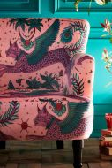 Close-up image of the Lynx Dalston Armchair By Emma J Shipley