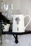 Lifestyle image of the Flower Girl Jug