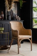 Lifestyle image of the French Style Wicker Chair