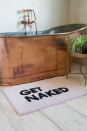 Lifestyle image of the Get Naked Bath Mat