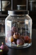 Lifestyle image of the Secret Ingredient Storage Jar with the lid on