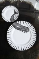Image of the Whale Dinner & Side Plate Set