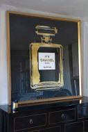 Lifestyle image of the World-Famous Perfume Fragrance Art Print