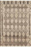 cutout image of amira am001 100% wool rug - various sizes available on white background