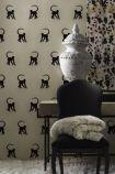 Andrew Martin Cheeky Monkey Wallpaper - Ebony - ROLL