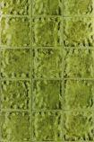 detail image of Designers Guild Aquarelle Wallpaper - Peridot PDG646/03 - ROLL green square tile repeated pattern