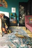 Lifestyle image of the Wendy Morrison Chinese Garden of Virtue Hand Knotted Wool & Silk Rug - 305cm x 427cm
