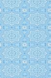 detail image of Cole & Son The Albemarle Collection - Piccadilly Wallpaper - Soft Blue 94/8042 - ROLL