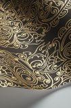 Cole & Son New Contemporary - Alpana Wallpaper - Black & Gold 69/2105 - ROLL